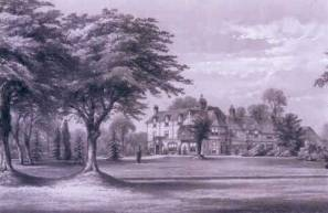 Etching Grayshott Hall