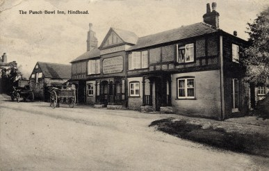 The 'Punchbowl Inn' dates back to the 18th century