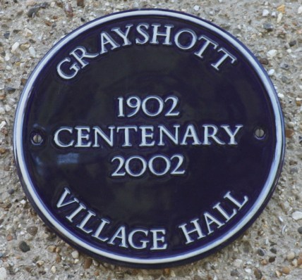 Grayshott Village Hall Centenary 2002