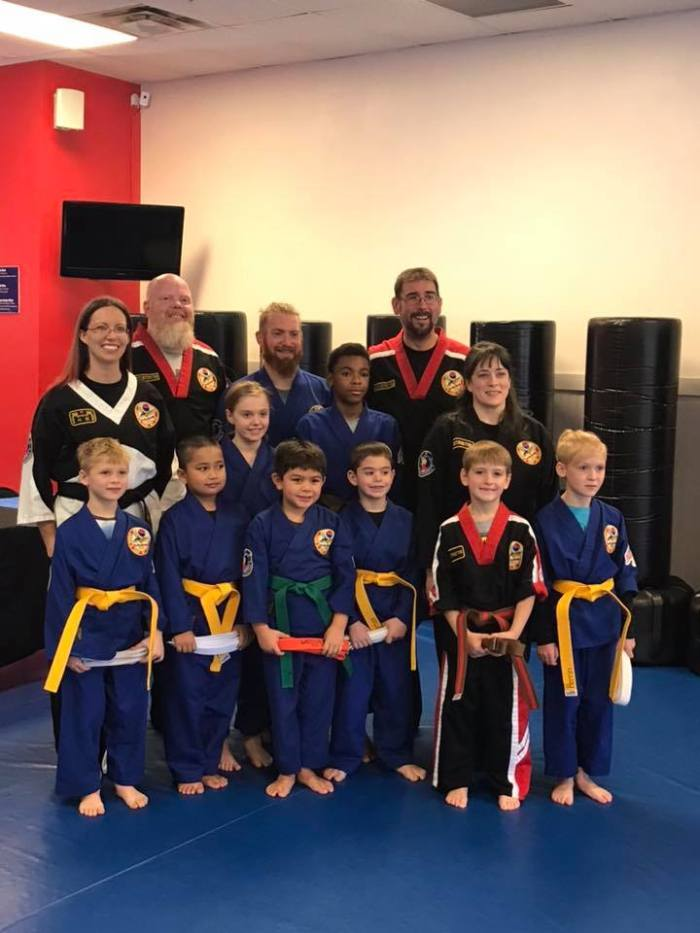 Belt Promotion Day at Choe's HapKiDo Grayson