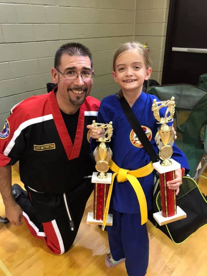 Instructor Paul Moore Jr. at Choe's HapKiDo Grayson