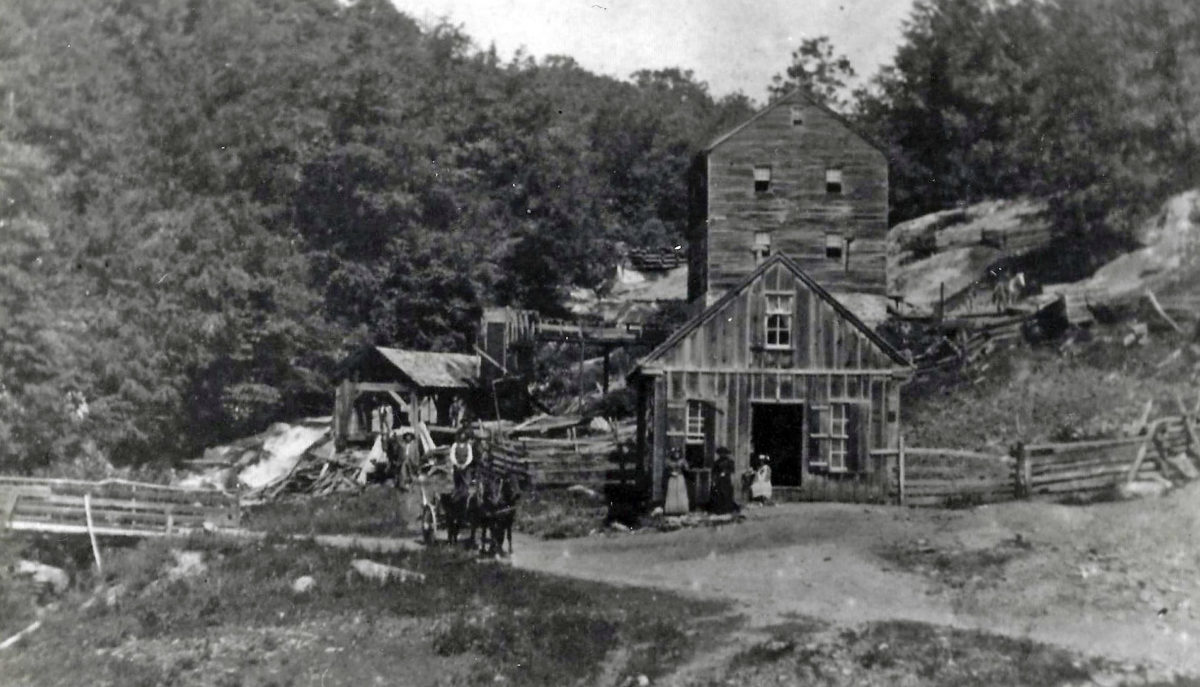 Powerhouse Mill in Independence circa 1890