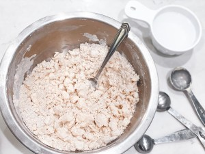 picture of pop tart dough in a bowl