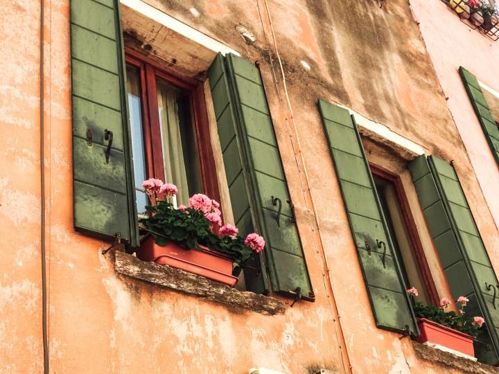 windows in venice italy