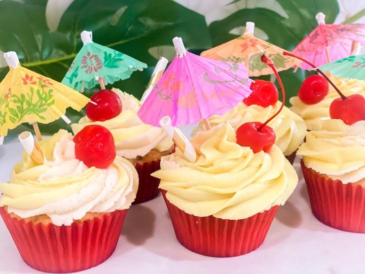 Dole Whip Cupcakes