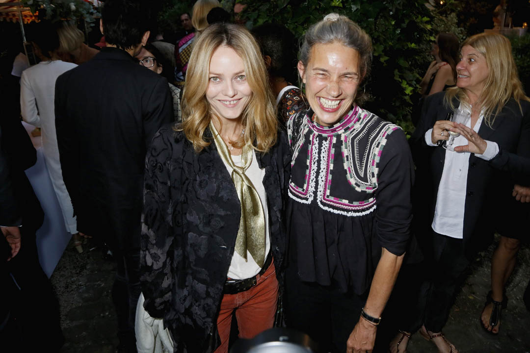 5df275ae607 My Theresa and Isabel Marant co-host party in Paris with VIP guests ...