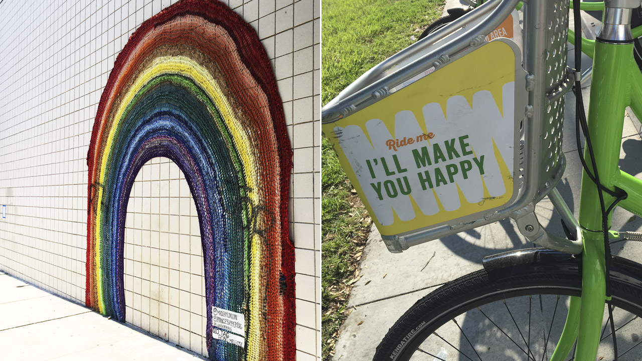 daytripping bike mural