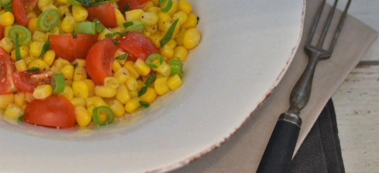 Tomaten-Mais-Salat