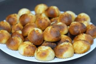 Die Butterbrötchen aus dem Carmleo Greco.