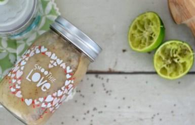 Dieser Avocado-Pfirsich-Smoothie ist gesund und lecker