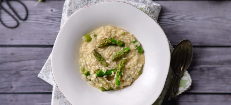 Soulfood: Spargel-Risotto