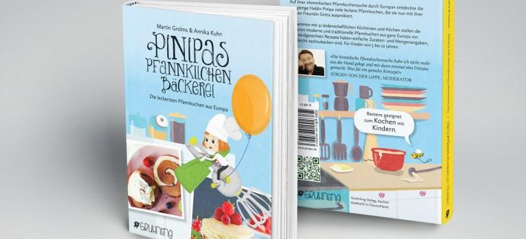 """Friede, Freude, Eierkuchen: Mein leckeres Tortilla-Rezept im Kinder-Kochbuch """"Pinipas Pfannkuchen-Bäckerei"""""""