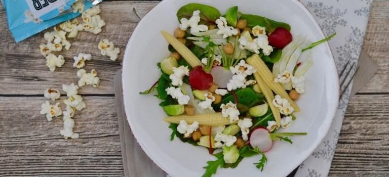 Winterlicher Popcorn-Salat // Gewinnspiel
