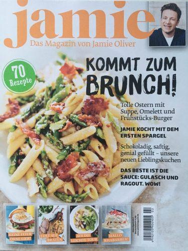 Werbung Gesunder Genuss im Jamie Oliver Magazin_Cover