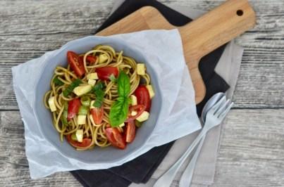 leichter Spaghetti-Salat