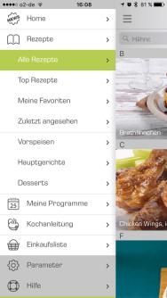 Tefal App für ActyFry