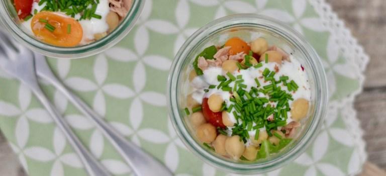 Herbstlicher Salat im Glas und warum ich Teil der Friends of Glass Community bin