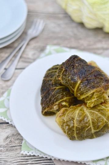 Kochen im Schnellkochtopf: Wirsingrouladen