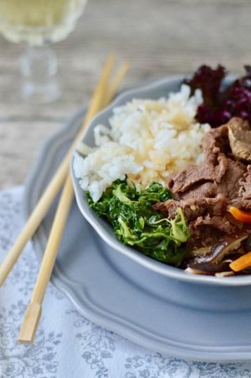Koreanisches Soulfood: Bibimbap á la Graziella