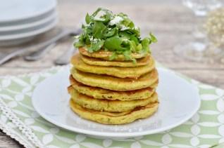 Pesto mal anders: Vegane, herzhafte Pfannkuchen