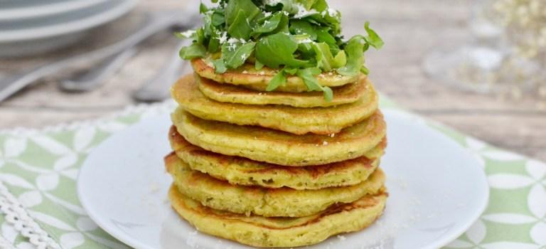 Pesto mal anders: Herzhafte vegane Pfannkuchen