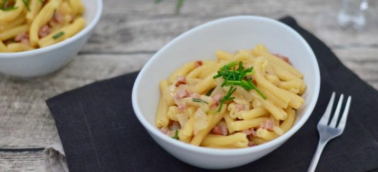 Pasta Wednesday: Casarecce alla Carbonara