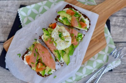 Happy Food: Avocado-Lachs-Stulle