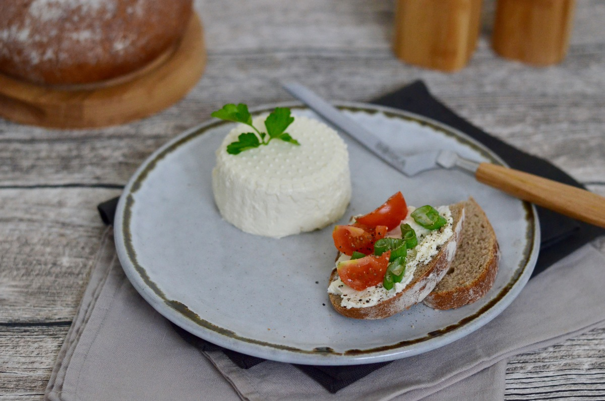 Prep&Cook Weekend Kitchen: selbstgemachter Ricotta