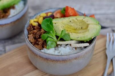 Happy Food: Vegane Tex-Mex Bowl