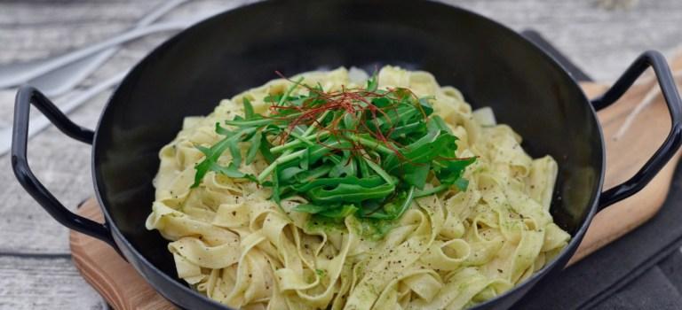 Prep&Cook Weekend Kitchen: #4 Tagliatelle mit Rucola-Walnuss-Pesto