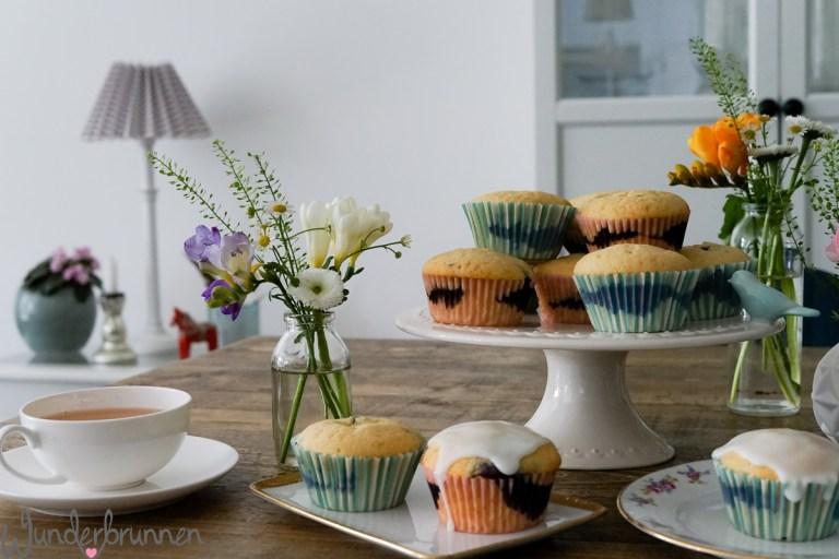 Gastbeitrag: Blaubeer-Muffins by Wunderbrunnen