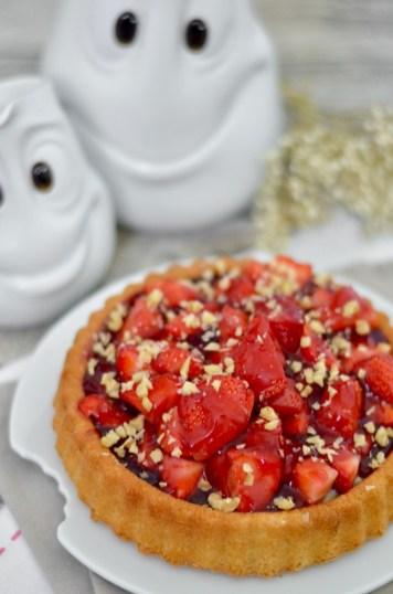 Happy Mother's Day: Leckerer Erdbeerkuchen mit Vanillesauce