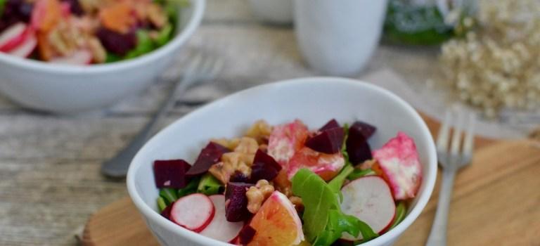 Detox: Rote-Bete-Salat mit Orangen & Walnüssen