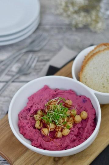 Prep&Cook Weekend Kitchen: #9 Rote-Bete-Hummus / KRUPS Blogger Kochbuch