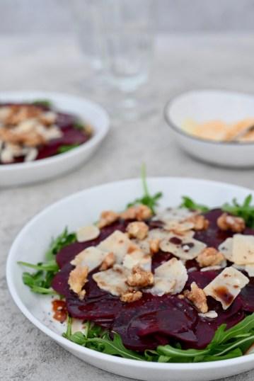 Happy Food: Rote-Bete-Carpaccio