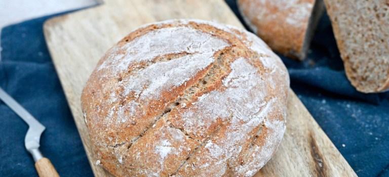 Für jeden Tag: Dinkelvollkorn-Brot mit Chiasamen