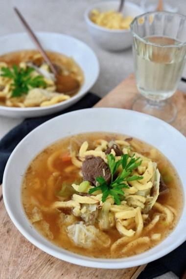 Kochen im Schnellkochtopf: Gaisburger Marsch