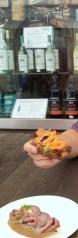 Lachsbrötchen - Salmon Sandwich
