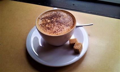 The delicious Cappuccino
