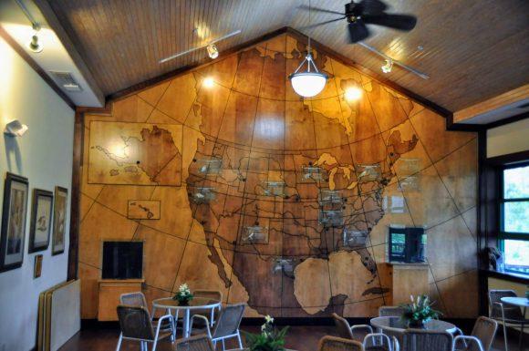 Florida Birdwatching: Corkscrew Swamp. Inside Blair Audubon Center