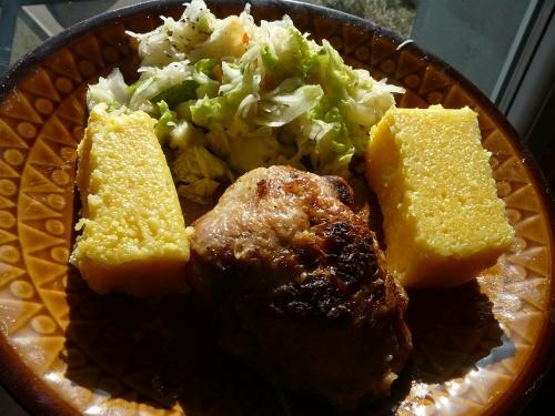 polenta z kurczakiem1