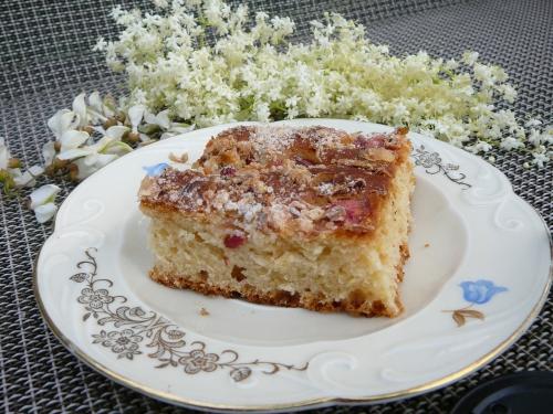 ciasto drożdżowe z kwiatową kruszonką