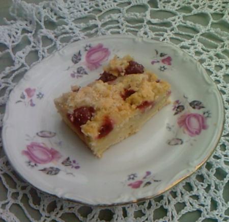 ciasto na maślance z wiśniam1i