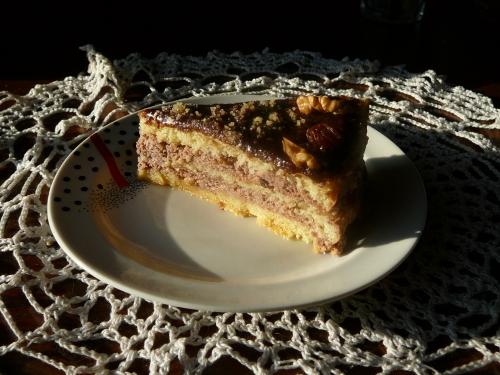 tort z masą orzechową1