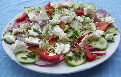 sałatka grecka wiosenna1