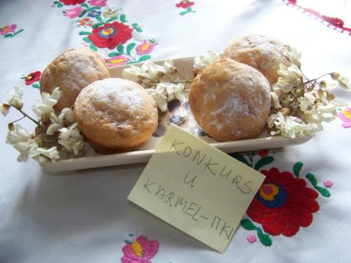 muffinki z akacją