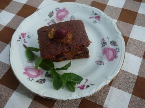 ciasto czekoladowe z kajmakiem1
