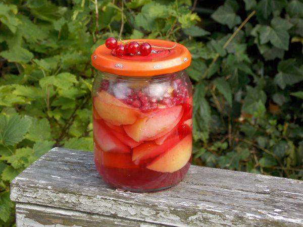 kompot jabłko-porzeczka 1