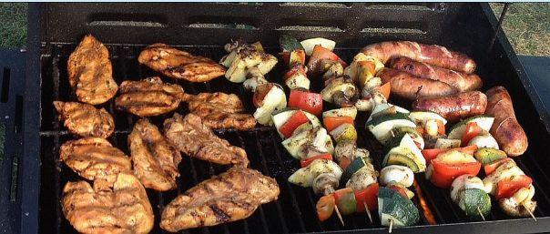 grill świąteczny