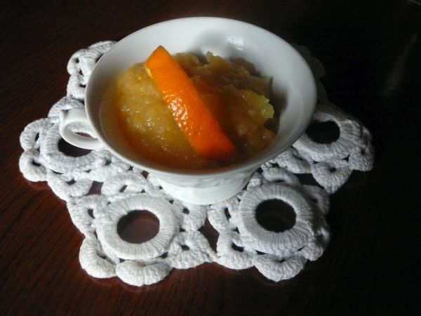mus jabłkowo-pomarańczowy